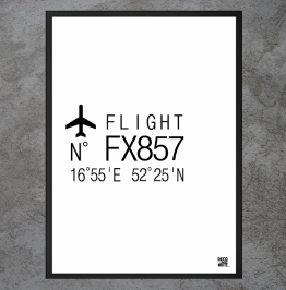 "Plakat ""Flight"""