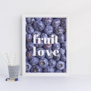 "Plakat ""Fruit Love"""