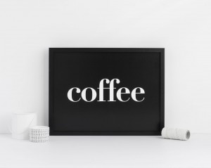 "Plakat ""Coffee"""